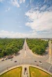 Panorama of Berlin Royalty Free Stock Photo