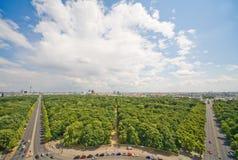 Panorama of Berlin Stock Images