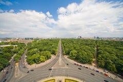 Panorama of Berlin Royalty Free Stock Image