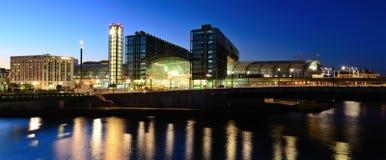 Panorama berlin hauptbahnhof Stock Images