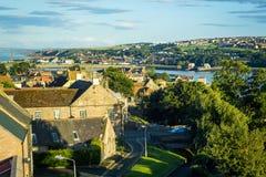 Panorama of Berwick upon Tweed in England, UK Royalty Free Stock Image