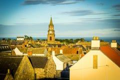 Panorama of Berwick upon Tweed in England, UK Stock Images