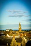 Panorama of Berwick upon Tweed in England, UK Royalty Free Stock Photography