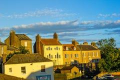 Panorama of Berwick upon Tweed in England, UK Stock Photos