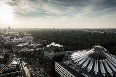 Panorama- beskåda av Berlin Arkivbild