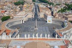 Överträffa av Vatican Royaltyfria Bilder