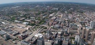 Stads- cityscape Fotografering för Bildbyråer