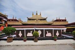 Jokhang tempel Arkivfoto