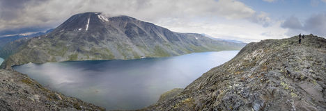 A Panorama of Bessvatnet Stock Photos