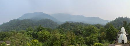 Panorama Bitelsi ashram Obrazy Stock