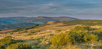 Black mountains, Wales Royalty Free Stock Images