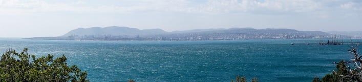 Panorama of the Black sea. Stock Image