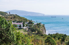 Panorama of the Black sea. Stock Photography