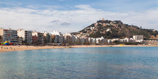 Panorama of Blanes Royalty Free Stock Images