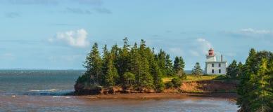 Panorama of Blockhouse Point Lighthouse Stock Photo