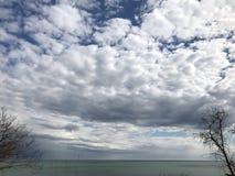 Odessa city. Ukraine. Natural landscapes on the Black Sea coast. royalty free stock photos