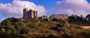 Panorama of Bolsover Castle in UK Stock Photos