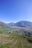 Panorama Of Bolzano Royalty Free Stock Photography