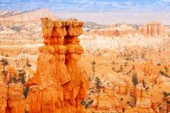 Panorama bonito de Bryce Canyon National Park Imagens de Stock Royalty Free