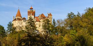 Panorama bran castle, romania Stock Image