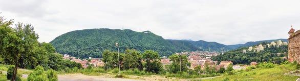 Panorama- Brasov Arkivfoto