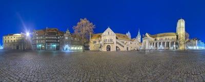 Panorama Braunschweig Zdjęcie Stock
