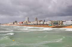 Panorama of Brighton, East Sussex Royalty Free Stock Photography