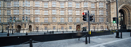Panorama british parliament Royalty Free Stock Photography