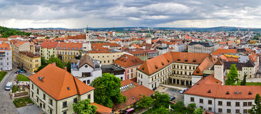 Panorama of Brno, Czech Republic Royalty Free Stock Image