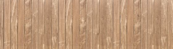 Panorama of brown wooden texure floor background wall vintahe blackground royalty free stock photo