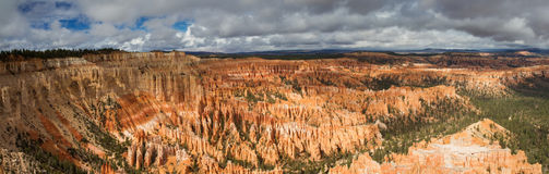Panorama of Bryce Canyon Royalty Free Stock Images