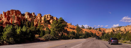 Panorama,  Bryce Canyon National Park Royalty Free Stock Photography