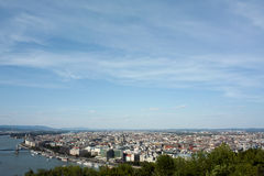 Panorama of Budapest. Stock Image