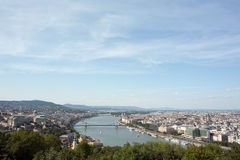 Panorama of Budapest. Royalty Free Stock Photo