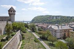 Panorama of Budapest. Royalty Free Stock Photos