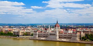 Panorama Budapest Zdjęcie Royalty Free