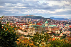 Panorama of Budapest Royalty Free Stock Photos