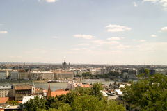Panorama of Budapest. Royalty Free Stock Photos