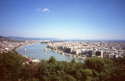 Panorama of Budapest. Stock Photos