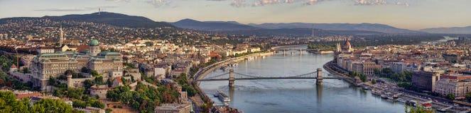 Panorama of Budapest Royalty Free Stock Image