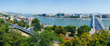 Panorama of Budapest Stock Photo