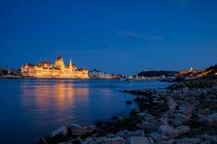 Panorama of Budapest Royalty Free Stock Photos