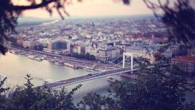 Panorama of Budapest,Hungary Stock Photos