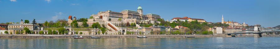 Panorama of Budapest in the morning Stock Photo