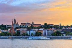 Panorama of Budapest Stock Image