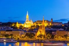 Panorama of Budapest Stock Photography
