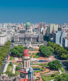 Panorama of Buenos Aires, Argentina Stock Photos