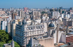 Panorama of Buenos Aires, Argentina Stock Images