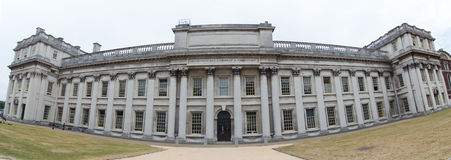 Panorama of a building in the Old Royal Naval College Stock Photo