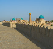 Panorama of Bukhara, Uzbekistan Royalty Free Stock Photo